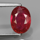 Genuine Pink Sapphire .79ct 6.5x4.8x2.5 SI2 Mozambique