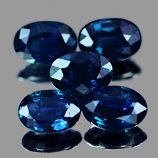 Genuine Blue Sapphire 0.63ct 6.2 x 4.3 x 2.5mm Oval Thailand VS1