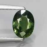 Genuine Green Sapphire .78ct 6.0x4.0x2.8 VS2 Thailand