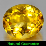 Genuine 100% Natural Citrine 4.28ct 12.0 x 10.0mm Oval VS1 Clarity