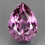 Genuine PINK SAPPHIRE .82ct 6.4 x 4.8 x 3.4mm Pear