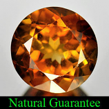 Genuine 100% Natural Champagne Topaz 3.38ct 9.0 x 9.0 x 5.8mm Brazil SI