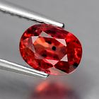 Genuine Red Sapphire 1.05ct 6.3 x 4.5mm SI1 Tanzania