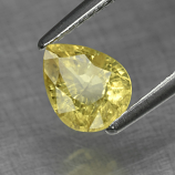 Genuine 100% Natural Yellow Sapphire 1.33ct 7.2x5.8x3.9mm SI1 Madagascar