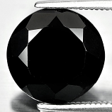 Genuine 100% Natural Black Spinel 5.47ct 11.0 x 11.0mm Round Opaque