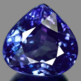 Genuine 100% Natural TANZANITE .88ct 6.1 x 5.9 x 3.6mm Pear
