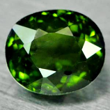Genuine 100% Natural Green Tourmaline 1.61ct 7.7 x 6.6mm Oval IF Clarity