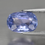 Genuine 100% Natural Blue Sapphire 0.64ct 6.0x4.0mm Oval SI1 Clarity Ceylon