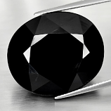Genuine 100% Natural Black Spinel 56.79ct 24.0 x 20.9mm Oval Opaque