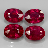Genuine Ruby 1.15ct 6.9x5mm SI1 Madagascar