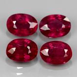 Genuine Ruby 1.15ct 6.9x5mm SI1 Madagascar