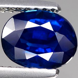 Genuine Blue Sapphire 1.65ct 7.8 x 6.0mm Oval VS Clarity