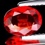 Genuine Red Sapphire 1.18ct 7.8 x 5.9mm Madagascar SI