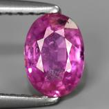 Genuine Pink Sapphire 0.89ct 6.3x4.5x3.2mm SI2 Madagascar