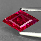 Genuine 100% Natural RUBY .71ct 9.1 x 5.3 x 2.2mm Lozenge