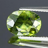 Genuine Green Sapphire 4.24ct 11.3 x 8.4mm Thailand VS1