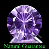 Genuine 100% Natural Amethyst 2.60ct 9.5 x 9.5mm Brazil IF