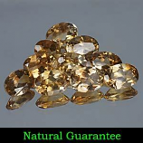Genuine 100% Natural Champagne Topaz 0.88cts 7.0 x 5.0mm Brazil VS1