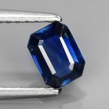 Genuine 100% Natural Blue Sapphire .54ct 5.5 x 4.2 SI1 Thailand
