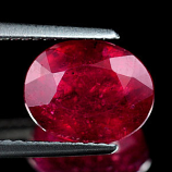 Genuine Ruby 4.44ct 10.2 x 8.2mm Madagascar VS1
