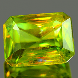 Genuine 100% Natural Sphene 0.99ct 6.9 x 5.1mm Octagon SI1 Clarity