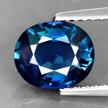 Genuine 100% Natural BLUE SAPPHIRE 1.78ct 8.1 x 6.8mm Oval (Certified)