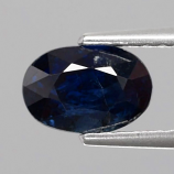 Genuine 100% Natural BLUE SAPPHIRE 1.60ct 7.0 x 5.0mm Oval SI2 Clarity