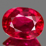 Genuine RUBY 2.67ct 9.1 x 7.0 x 4.6mm Oval