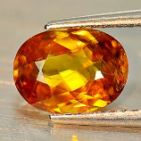 Genuine 100% Natural Sphene 1.77ct 8.8 x 6.6mm Oval VS1 Clarity
