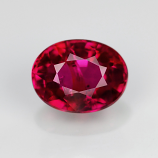 Genuine 100% Natural Ruby .47ct 5.0 x 3.8mm Oval SI1 Clarity