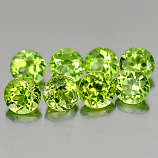 Genuine 100% Natural Peridot 0.33ct 4.1x4.1x3.1mm VS1 Pakistan