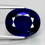 Genuine Royal Blue Sapphire 5.16ct 10.3x9.2x5mm SI1 Africa
