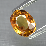 Genuine 100% Natural YELLOW TOURMALINE 1.08ct 6.7 x 5.0mm Oval VS2 Clarity