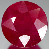 Genuine RUBY 3.56ct 8.6 x 8.6 x 5.5mm Round