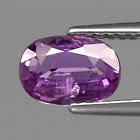 Genuine Purple Sapphire 1.02ct 7.2x5.7x2.7mm SI1 Madagascar