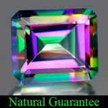 Genuine MYSTIC GREEN TOPAZ 7.31ct 12.0 x 10.0 x 6.7mm Octagon