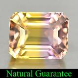 Genuine 100% Natural Ametrine 2.48ct 8.4 x 6.7mm Octagon VVS Clarity