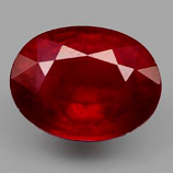 Genuine Ruby 1.87ct 8.0 x 6.1mm Oval SI Clarity
