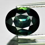 Genuine Green Sapphire 1.86ct 8.4x7.0x3.8mm VVS Thailand