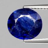 Genuine Blue Sapphire 3.44ct 9.3x8.5x4.9mm SI2 Madagascar