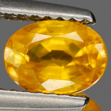 Genuine YELLOW SAPPHIRE 1.22ct 7.1 x 5.1 x 3.6mm Oval