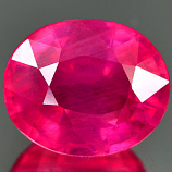 Genuine RUBY 3.36ct 9.1 x 7.6 x 5.4mm Oval