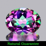 Genuine MYSTIC GREEN TOPAZ 1.92ct 9.1 x 7.1 x 4.3mm Oval