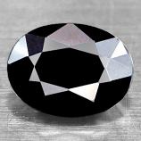 Genuine Midnight Blue Sapphire 1.58ct 8.1 x 6.0mm Oval Opaque
