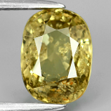 Genuine 100% Natural Yellow Sapphire 2.59ct 8.91 x 6.61mm Oval SI1 Clarity (Certified)