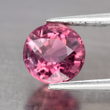 Genuine 100% Natural Pink Tourmaline 0.79ct 5.5x5.5x3.9mm SI1 Mozambique