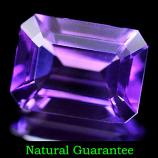 Genuine 100% Natural Amethyst 1.18ct 8.1 x 6.0mm Brazil VVS