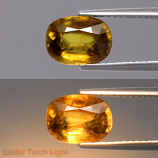 Genuine 100% Natural Sphene 2.19ct 9.0x6.5x4.4mm SI1 Madagascar