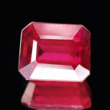 Genuine RUBY 1.94ct 7.2 x 5.8 x 4.2mm Octagon