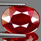 Genuine RUBY 5.81ct 12.6 x 9.4 x 4.4mm Oval